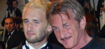 Hopper Penn reveals that dad Sean Penn almost named him 'Steak Penn'