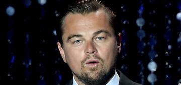 Star: Leonardo DiCaprio wears headphones & vapes during sex