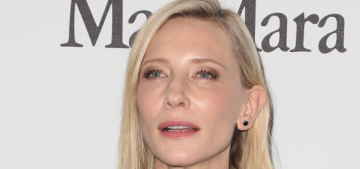 """""""Serious question: did Cate Blanchett lose her style mojo?"""" links"""