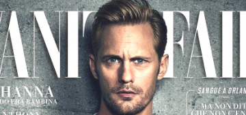 Alex Skarsgard: 'Although I like the idea of having my own family, I'm in no hurry'
