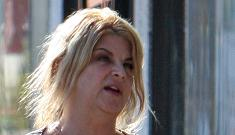 Kirstie Alley says she wants Michelle Obama's arms