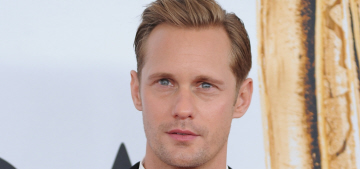 Alex Skarsgard on automatic weapons: 'They belong in the military & nowhere else'