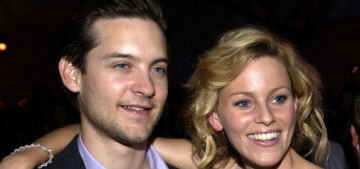 Elizabeth Banks was 'too old' to play Tobey Maguire's love interest