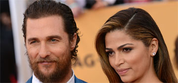 Matthew McConaughey on meeting his wife the first time: 'I went, what is that?'