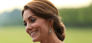 Duchess Kate in a Jenny Packham repeat for Norfolk fundraiser: lovely or meh?