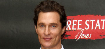 Matthew McConaughey put on 90lbs for a role: 'I kind of miss being 217 lbs'