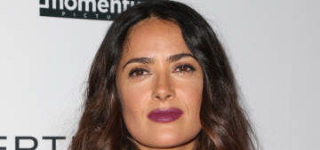 Salma Hayek: 'I am entering my fifties so your body confidence isn't that good'