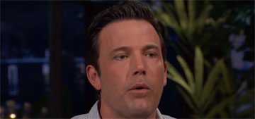 Ben Affleck, on his maybe-drunk interview: 'I gave exactly 18 f*cks about my Pats'