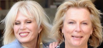 Did Jennifer Saunders & Joanna Lumley throw shade at Benedict Cumberbatch?