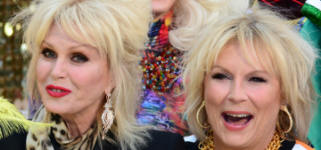 Who was the most fabulous person at the 'Absolutely Fabulous' premiere?