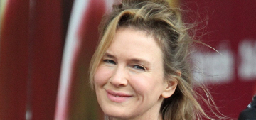 Variety critic writes about Renee Zellweger's face & now everybody's mad