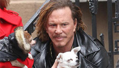 Mickey Rourke's 'wingman' Jaws gets all the ladies