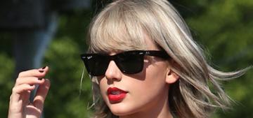 Taylor Swift & Tom Hiddleston were loved up in Rhode Island this weekend