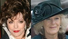 Joan Collins has snotty makeover suggestions for Camilla Parker Bowles