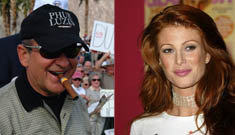 Angie Everhart and Joe Pesci Engaged. I am not making this up.