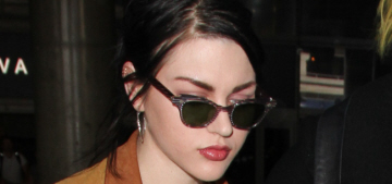 Frances Bean Cobain & her ex-husband are fighting over Kurt Cobain's guitar