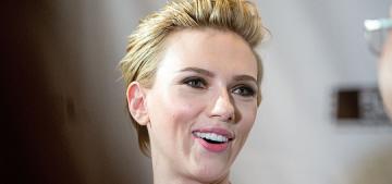 Scarlett Johansson: 'It's my absolute greatest joy to change dirty diapers'
