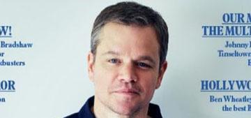 Matt Damon: James Bond is 'a misogynist, he kills people & cracks jokes about it'