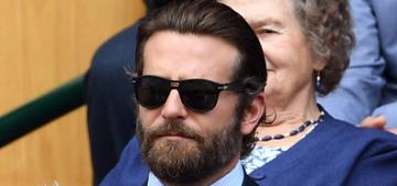 Bradley Cooper & Irina Shayk got into a public tiff at Wimbledon on Sunday