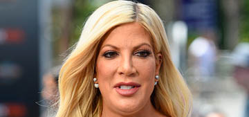 Tori Spelling owes over a quarter million in back taxes: predictable?