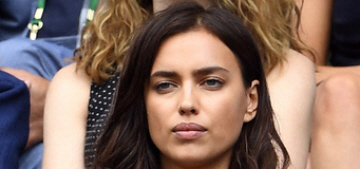Irina Shayk wasn't crying at Wimbledon, she just has seasonal allergies?
