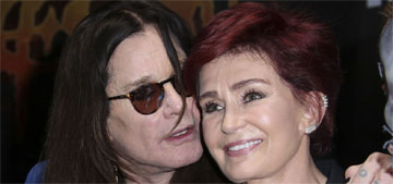 Sharon Osbourne & Ozzy are  'in love again' after his cheating scandal
