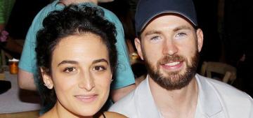 Star: Jenny Slate developed feelings for Chris Evans when she was still married