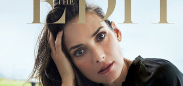Winona Ryder: 'I love getting older, I've been waiting so long for that to happen!'