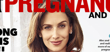 Hilaria Baldwin: 'Just because we're pregnant doesn't mean we're sick'