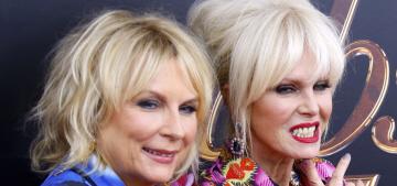 Joanna Lumley & Jennifer Saunders brought the fabulousness to NYC
