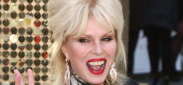 Joanna Lumley has the best story about meeting Donald Trump in the '90s