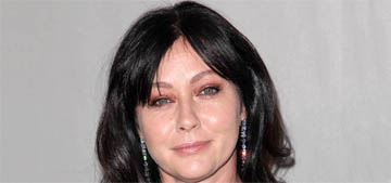 Shannen Doherty shaved her head as she gets treatment for breast cancer