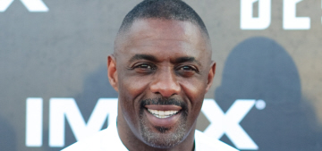 Idris Elba wore shorts & a blouse to San Diego 'Star Trek' premiere: hot or not?