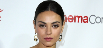 Mila Kunis' daughter thinks everyone is pregnant: 'but Papa's got beer in his belly'