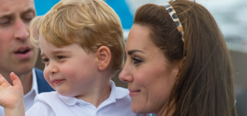 Prince George gave Lupo the dog some ice cream & everyone is freaking out
