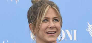 Jennifer Aniston talks social media, taking down bullies & more in Griffoni