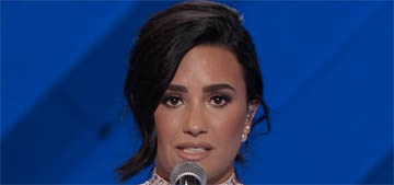 Demi Lovato's speech at the DNC on mental health: 'We can do better'