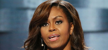 Michelle Obama made a beautiful, historic & emotional speech at the DNC