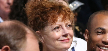 Bernie-or-Bust Susan Sarandon 'is having literally the worst time' at the DNC