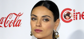 Mila Kunis: 'I'm hoping that Wyatt will learn that the word 'want' is not necessary'
