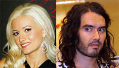 Did Holly Madison hook up with Russell Brand?