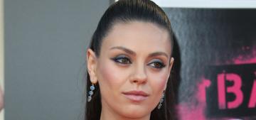 """Mila Kunis's custom Versace dress was kind of underwhelming"" links"