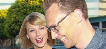 Taylor Swift & Tom Hiddleston got pap'd on their completely natural date-night