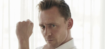 Tom Hiddleston isn't cool enough or young enough to represent Armani?