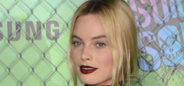 Margot Robbie in the McQueen 'unicorn' dress at NYC premiere: OMG?