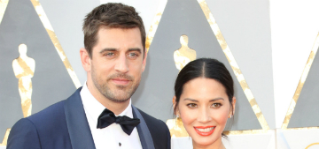 US: Olivia Munn is the reason Aaron Rodgers doesn't talk to his family