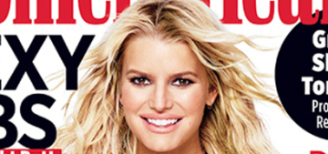 Jessica Simpson: 'I was going to get a breast reduction…but I like how they are'