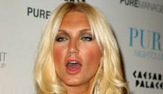 """Brooke Hogan on mom's new BF: """"If he was 5 years old & a good influence…"""""""