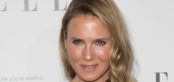 Renee Zellweger wrote a scathing HuffPo essay about her lack of plastic surgery