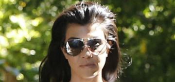 Kourtney Kardashian forgot she posed nude: 'I do so many things'